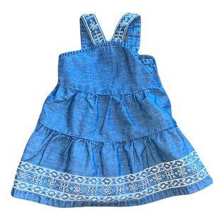 Cute jean baby dress